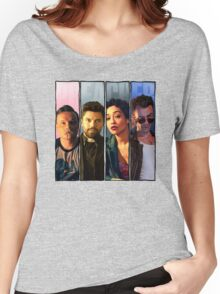 Preacher Four Panel (Eugene,Jesse,Tulip,Cassidy) Women's Relaxed Fit T-Shirt