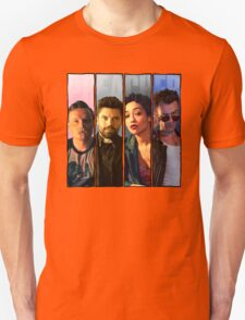 Preacher Four Panel (Eugene,Jesse,Tulip,Cassidy) Unisex T-Shirt