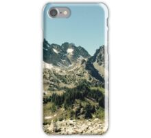 Olympic mountains summer iPhone Case/Skin