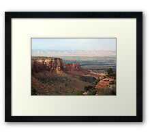 Colorado National Monument 10 Framed Print