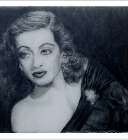 Bette Davis  Sticker