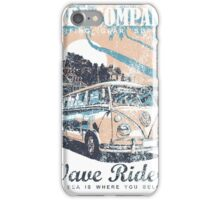 VW Kombi Surf Company iPhone Case/Skin