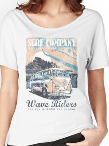 VW Kombi Surf Company Women's Relaxed Fit T-Shirt