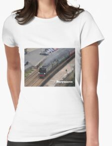 Southern Railway 34067 'Tangmere' at Dawlish Womens Fitted T-Shirt