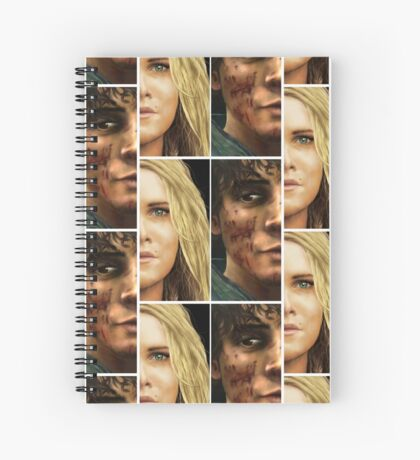 Bellarke portraits Spiral Notebook