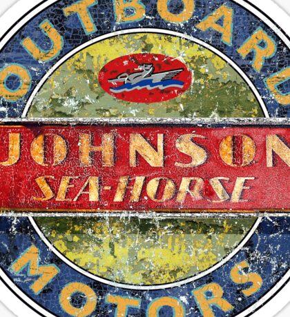 Johnson Seahorse Vintage Outboard motors Sticker