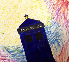TARDIS? It's beautiful by rachelquackxox