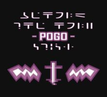 Behold, the Holy POGO Stick Shirt! (dark shirts) by Galit