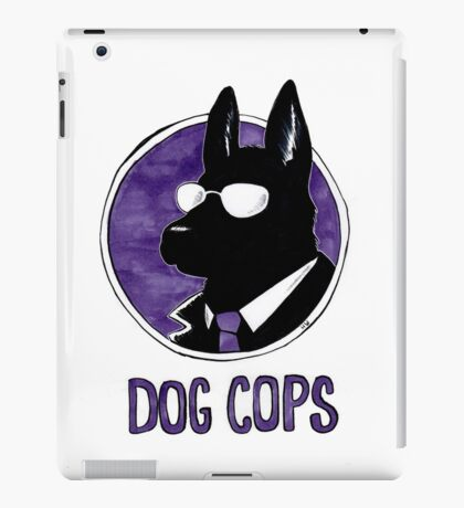 Dog Cops iPad Case/Skin