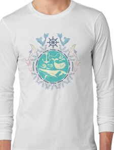 The Paradise: Whales world Long Sleeve T-Shirt