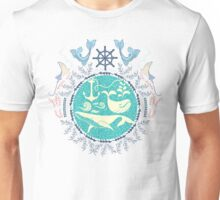 The Paradise: Whales world Unisex T-Shirt