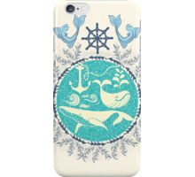 The Paradise: Whales world iPhone Case/Skin