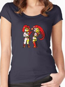 Team Rocket - Jesse & James - Pokemon Yellow Women's Fitted Scoop T-Shirt