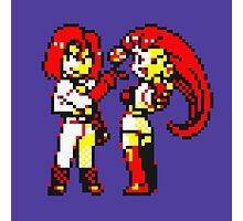 Team Rocket - Jesse & James - Pokemon Yellow Photographic Print