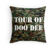 Tour Of Doo Dee Throw Pillow