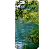 A View of the Koi Pond iPhone Case/Skin