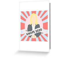 Knope 2020 Greeting Card