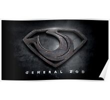 General Zod Poster