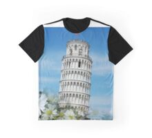 Leaning Tower of Pisa, Italy - Torre di Pisa, Italia Graphic T-Shirt