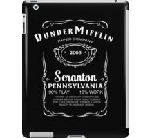 Dunder Mifflin Whiskey iPad Case/Skin