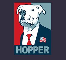 Feel The Hopper (Red White and Hopper) Smaller Print Unisex T-Shirt