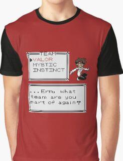 Team Valor - Pokemon Graphic T-Shirt