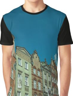 Clock Tower Gdansk  Graphic T-Shirt