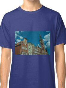 Clock Tower Gdansk  Classic T-Shirt