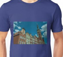 Clock Tower Gdansk  Unisex T-Shirt