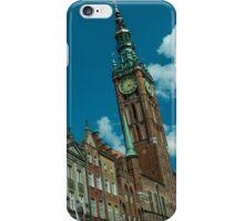 Clock Tower Gdansk  iPhone Case/Skin