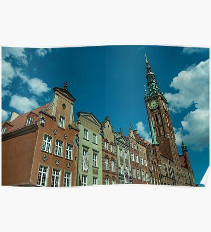 Clock Tower Gdansk  Poster