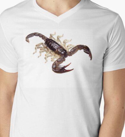 Scorpion Mens V-Neck T-Shirt