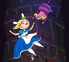 Fionna in Wonderland by NikkiWardArt