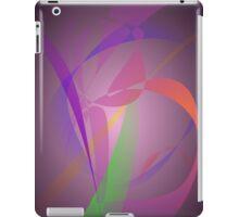 Purple Gray Gentle Abstract Design iPad Case/Skin