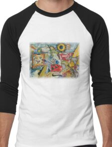Kandinsky - Composition No. 1 Men's Baseball ¾ T-Shirt