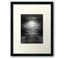 The Space Between Dreams & Reality II Framed Print