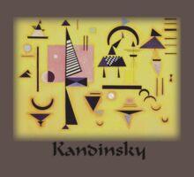 Kandinsky - Decisive Pink One Piece - Short Sleeve