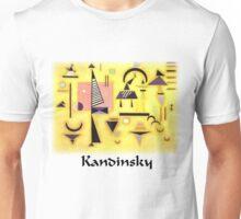 Kandinsky - Decisive Pink Unisex T-Shirt