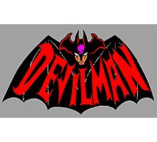 Beware, the (Goddamn) Devilman! Photographic Print