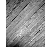 WOOD_PATTERN_2 Photographic Print