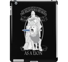 As A Lion iPad Case/Skin