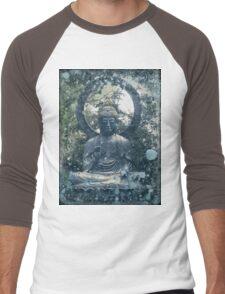 Abstract Zen Buddha Men's Baseball ¾ T-Shirt