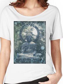 Abstract Zen Buddha Women's Relaxed Fit T-Shirt
