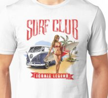 VW Kombi Beach Design Unisex T-Shirt