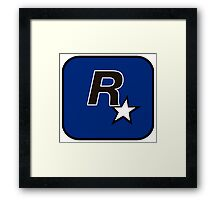 Rockstar North Logo Framed Print