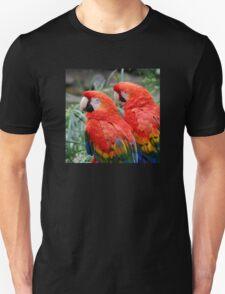 Scarlet Macaws Unisex T-Shirt