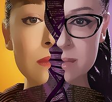 Orphan Black - Sestras  by bellepickering