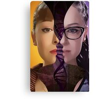 Orphan Black - Sestras  Canvas Print