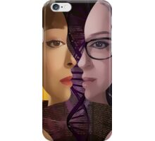 Orphan Black - Sestras  iPhone Case/Skin