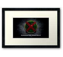 Martian Manhunter Framed Print